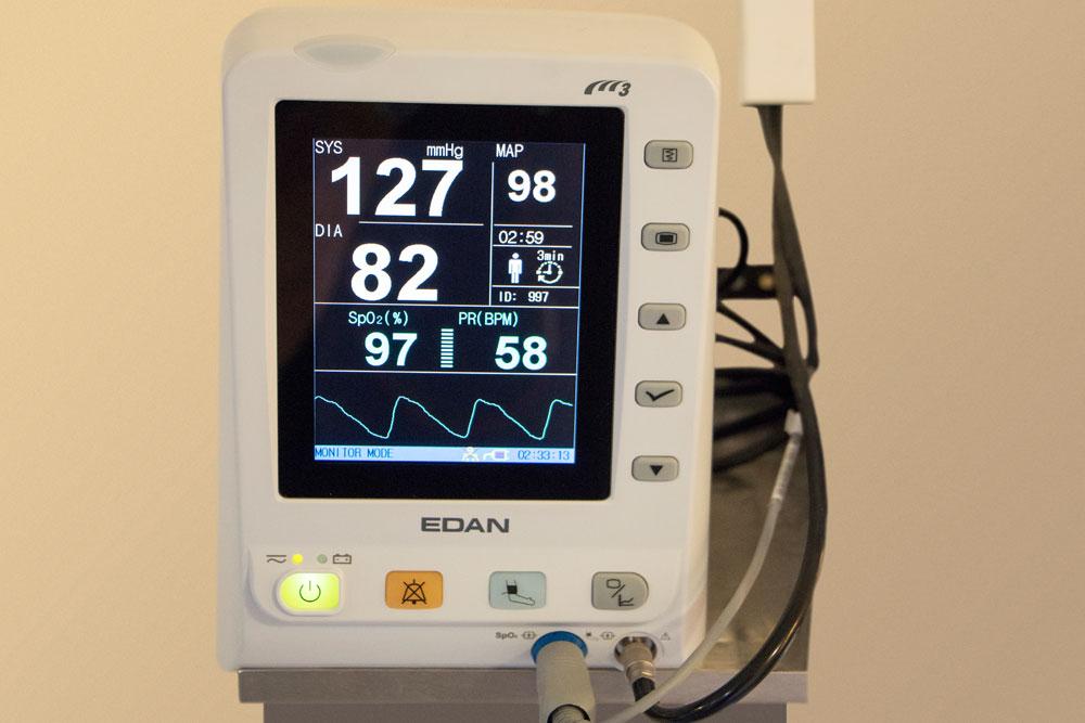 Überwachungs-EKG